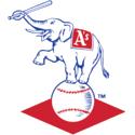 Logo Atléticos de Kansas City 1958